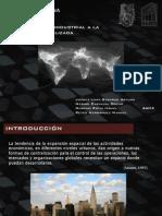 De la metropoli industrial a la metropoli globalizada