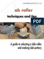 Slab Roller Techniques & Tips