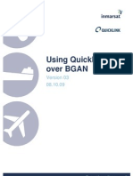 Using Quicklink H264 Over BGAN