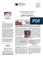 Previous Newsletter - 2