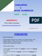 CONJUNTOS - OPERAÇÕES COM CONJUNTOS- ETC - FEVEREIRO 2010  - PARTE -01 de 04