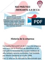 CASO PRÁCTICO COMPAÑIA MERCANTIL