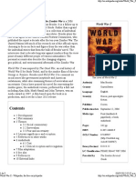 World War Z - Wikipedia, The Free Encyclopedia