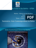 Arte Contemporanea na Bahia