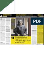 Entrevista a autor José Escajadillo ( Presidente de APDAYC)