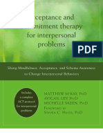 ACT for Interpersonal Problems