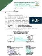 Surat Permohonan Bantuan Dana