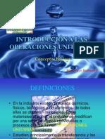 Introduccion Operaciones Uniatarias Ing. Marco Burbano
