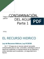 Contaminacion de Agua Parte1