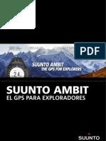 Suunto Ambit Actualización 1.5 Julio 2012