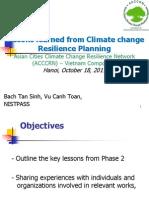 06. Mr. Vu Canh Toan_NISTPASS_EN-Kinh nghiệm lập kế hoạch thích ứng với Biến đổi khí hậu