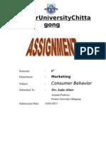 Consumer Behavior- Research on Advertisements