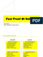 Foolproof Business Intelligence