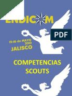 Competencias Scouts para Caminantes