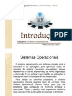 Sistemas Operacionais - Introdução