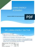 Sri Lanka Energy Scenario