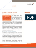 SumTotal Market-Leading Learning Management Solution