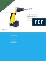 2012 GCC Poc Construction Sector Overview