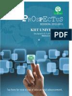 KIITEE 2012 Prospectus
