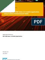 CRM Modile 2.0 Custom Fiels Enhancement Guid