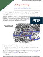 History of Topology - Fiedorowicz