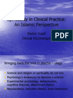 Spirituality in Clinical Practice