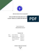 PKM K 12 IPB Prastiwi Bir Pletok Celup