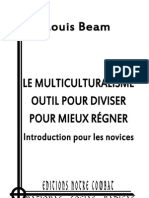 Beam Louis, Le Multiculturalisme