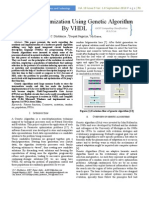 Function Optimization Using Genetic Algorithm by VHDL
