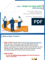 Order to Cash Process