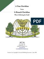 A True Davidian vs A Branch Davidian