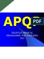 APQP- In Progress