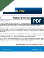 Altitude Definition