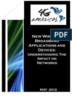 New Wireless Broadband Applications and Devices (Impact)