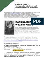 Kawczyński - człowiek renesansu w Milanówku