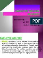 Employee Welfare mesaures ppt