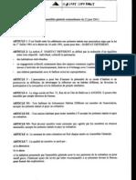 Statuts HD 2001
