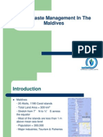 sc of sw management in maldives