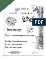 Immuno . Lec 24