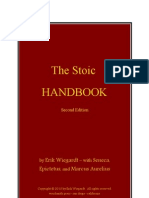 The Stoic Handbook Second Edition by Erik Wiegardt – with Seneca, Epictetus, and Marcus Aurelius