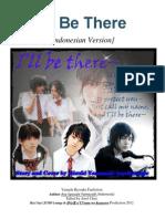 I'Ll Be There (Indonesian Version, Yamada Ryosuke Fanfiction)