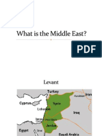 Economics of the Middle East