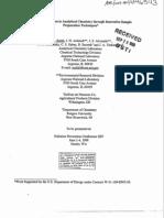 manual of waste minimization chemical