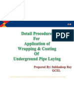 Wrapping Coating Procedure