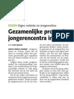Gezamelijke Promotie Jongerencentra in Regio