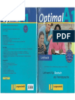Optimal A1 Lehrbuch für Deutsch als Fremdsprache
