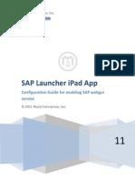 SAP Launcher App How to Configure SAP Webgui Service