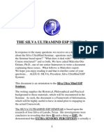 The Silva Ultra Mind Esp Seminar e Book