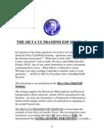 The Silva Ultra Mind Esp Seminar e Book