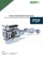 Future of Automotive Powertrains